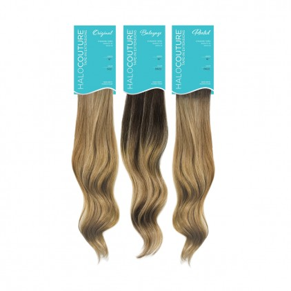 Tape-in Halocouture  Extensions