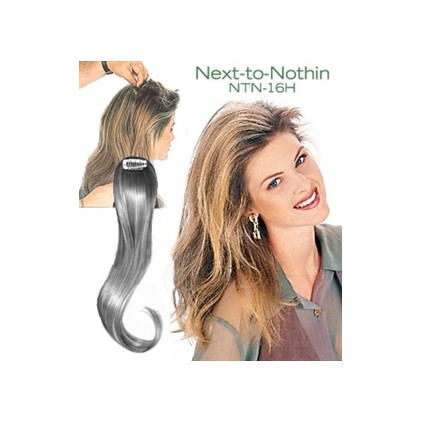 Human Hair Clip In Hairpiece-NTN-16H