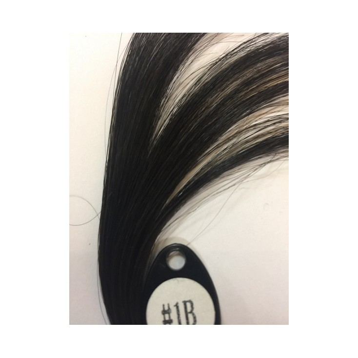 Middle length wavy high quality Kosher wig