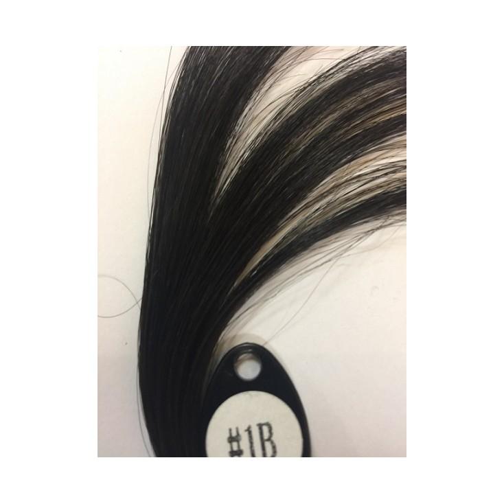 Long Human Virgin Hair Machine Made Medical Wig