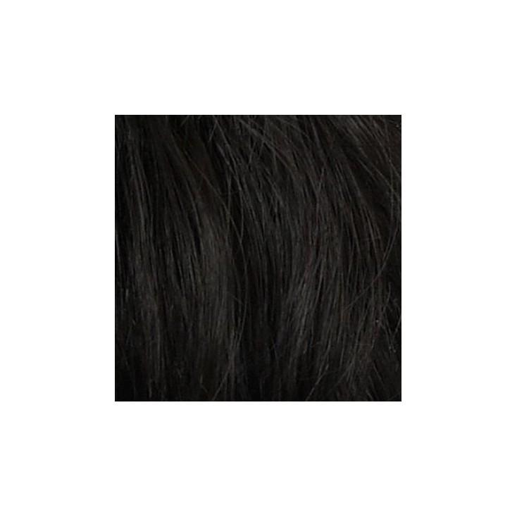 182H Human Hair Silk Top Hairpiece