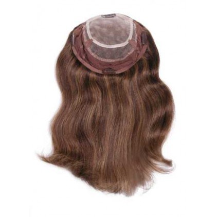 267H Human Hair 3/4 Wig
