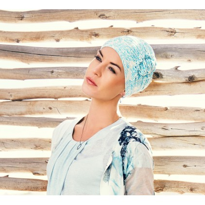 Lotus Turban Printed 0404