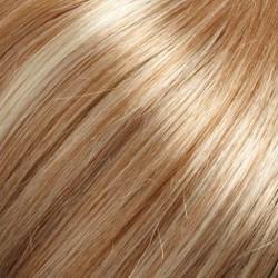 27RH613 Medium Red/Golden Blonde w/33% Pale Natural Golden Blonde Highlights