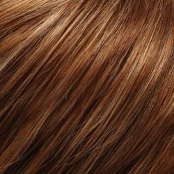 FS27 Medium Red/Gold Blonde w/ Golden Blonde Bold Highlights