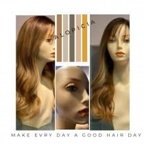 Alopecia medical wig for women